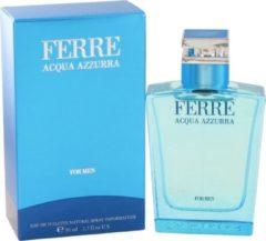 Ferre Acqua Azzurra by Gianfranco Ferre 50 ml - Eau De Toilette Spray
