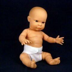Huidskleurige The Doll Factory Babypoppen Blank Jongetje 34 cm