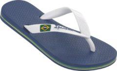 Ipanema Classic Brasil Kids Slippers - Donkerblauw/Wit - Maat 33/34
