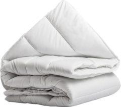 Witte Slaap Vaak Silver Synthetic 4-Seizoenen Dekbed - Litsjumeaux - 240x200 cm - Wit