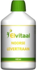 How2behealthy Elvitaal levertraan 500 ml