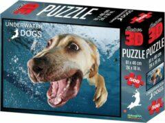 National Geographic 3D puzzel Bella de Labrador 500 stukjes
