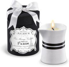 Witte Petits Joujoux - Massagekaars Paris - 190 gram - Glijmiddel