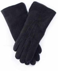 Bernardino Zwarte Lammy handschoenen suede voor volwassenen 8 (L - 20,5 cm)