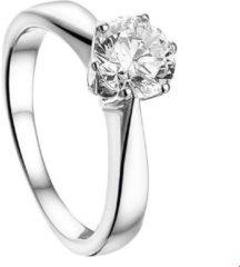Quickjewels huiscollectie Zilver Gerhodineerde Ring zirkonia 1316163 16.00 mm (50)