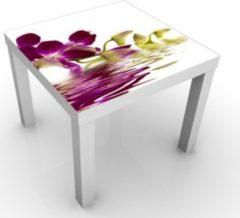 PPS. Imaging Beistelltisch - Pink Orchid Waters - Tisch Weiß