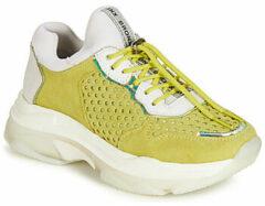 Gele Lage Sneakers Bronx BAISLEY
