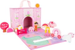 Small Foot Company Small Foot Speelkoffer Prinsessenkasteel Roze 25 Cm