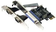 Dawicontrol DC 9112 PCIE - Adapter Parallel/Seriell - PCIe DC-9112 PCIE