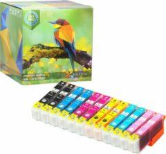 Cyane Ink Hero - 2 Pack - Inktcartridge / Alternatief voor de Epson Expression Photo 24XL T2431 T2432 T2433 T2434 T2435 T2436 XP-55 XP-750 XP-760 XP-850 XP-860 XP-950 XP-960 XP-55 XP-750 XP-760 XP-850 XP-860 XP-950 XP-960 Inks