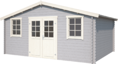 Outdoor Life Products | Blokhut Udo 380 | Platinum Grey | 500x400
