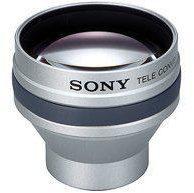 Zilveren Sony VCL-HG2025 Tele-Vorsatz Filtergewinde
