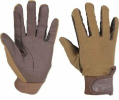 Zwarte Horka Paardrijhandschoenen Cotton Serino Gloves