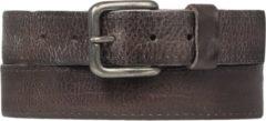 Licht-grijze Cowboysbelt Cowboysbag - Riemen - Belt 351002 - Grey