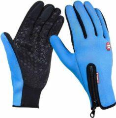 Go Go Gadget Handschoenen | touchscreen | waterdicht | fleece | unisex | blauw | maat XL