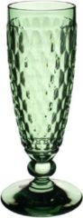 VILLEROY & BOCH - Boston coloured - Champagneflute groen 16cm 0,15l