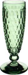 VILLEROY & BOCH - Boston coloured - Champagneflute groen 16cm 0,15l