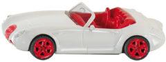 Rode Siku Wiesmann Roadster MF5 sportwagen wit/rood (1320)