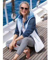 Jas MIAMODA Blauw::Wit