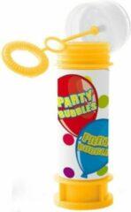 Folat 24x Bellenblaas Party Bubbles 60 ml speelgoed voor kinderen - Uitdeelspeelgoed/weggevertjes