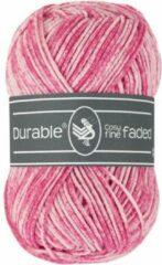 Durable Cosy fine faded Fuchsia (237) - acryl en katoen garen tie-dye - 1 bol van 50 gram