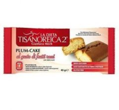 Tisanoreica Gianluca Mech Tisanoreica 2 Plum cake al gusto di frutti rossi 45g
