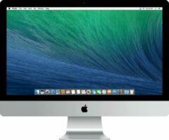 Zilveren Apple Refurbished Apple iMac 27 inch Refurbished - Quad Core i5 3.4 - 8GB - 1TB HDD - Eind 2013 - B-grade
