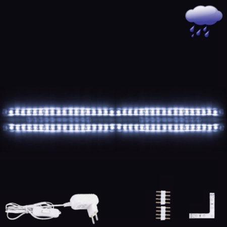 Afbeelding van EGLO Ledstrips - Flex - Coated - Wit licht - L 2x600mm + hoek