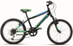 20 Zoll Mountainbike 18 Gang Montana Escape Wham schwarz-grün