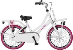 20 Zoll Mädchen Holland Fahrrad Hoopfietsen Altec... weiß