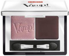 Bruine Pupa milano Pupa Vamp! Compact Duo Eyeshadow 008 Cream Taupe