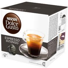 NESCAFÉ Dolce Gusto Koffie caspules Dolce Gusto Espresso Instensso 16 Stuks