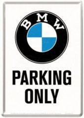 Nostalgic Art Merchandising Nostalgic Art BMW Parking Only Metalen Metalen Postcard 10 x 14 cm