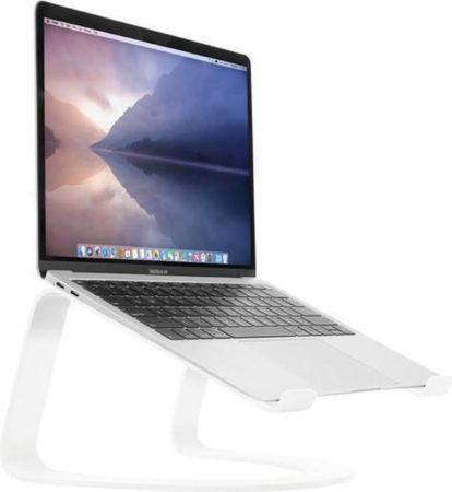 Afbeelding van Witte Twelvesouth Twelve South Curve SE Laptopstandaard