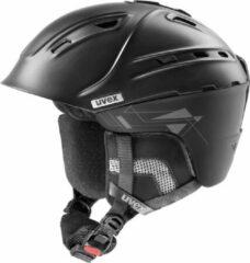 Zwarte Uvex S566178937 Two Plus Skihelm Gr 59-61 cm,black mat