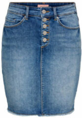 Blauwe Only Denim rok High waist
