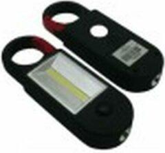 Zwarte Benson LED CLIP LIGHT COB 3-IN-1 + MAGNEET