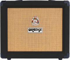 Zwarte Orange Crush 20 Black - solidstate gitaarcombo - gitaarversterker - Orange gitaarversterker - Elektrische gitaarversterker