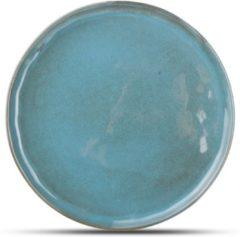 Yong Element Bord Element 19,5 cm. Blauw-Groen