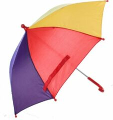 Johntoy Kinderparaplu Rood 70 Cm