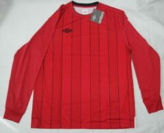Rode Umbro A Cont Ps Jsy LS shirt vermillion/black L
