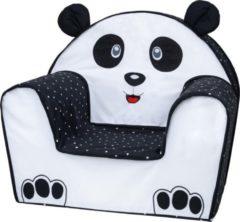 Witte Bubaba Kinderfauteuil - Peuterstoeltje - Kinderzetel Panda