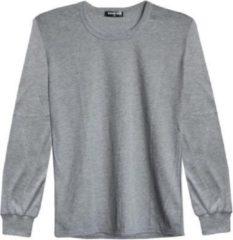 Merkloos / Sans marque Thermoshirt heren Grandman grijs katoen M