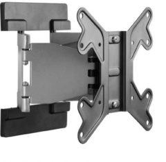 Goobay EasyFold M TV-beugel 43,2 cm (17) - 106,7 cm (42) Kantelbaar en zwenkbaar