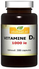 How2behealthy Elvitaal Vitamine D3 1000 IE 300 capsules