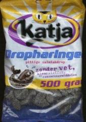 Grijze Snoepgoed Katja Dropharingen | Zak van 500 gram