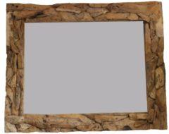 Teak & Living Spiegel Sprokkel 130x90 cm Natural Teak