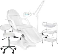 MEGA BEAUTY SHOP® Behandelstoel starter set WIT met GRATIS behandelstoelhoes (6)