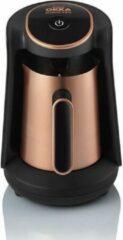 Zwarte Arzum OKKA Minio PRO - Stalen Koffiepot - OK0010 Copper | Turkse Koffiemachine - | 4 kopjes | Turkish Coffee Maker | Steel Coffee Pot