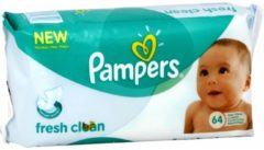 Pampers Babydoekjes Baby Fresh Navul 12-pack (12x 64st)